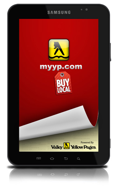MyYP.com Android Tablet app